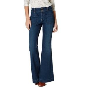 Anthropologie Holding Horses Wide Flare Leg Jeans